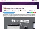Best Wireless Printer In India