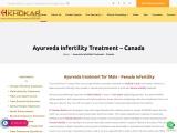 Ayurveda Infertility Treatment Canada
