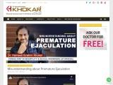 Misunderstanding about Premature Ejaculation