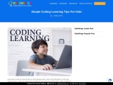 Simple Coding Learning Tips for Kids