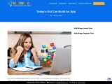 Today's Kid Can Build An App – Kidzwings