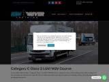Cat C Class 2 LGV/HGV Course in UK