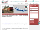 Pick Finest ICU Air Ambulance in Patna at Low-Fare by King Ambulance