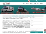 Get Hi-Tech King Ambulance Service in Rajendra-Nagar with Medical Team