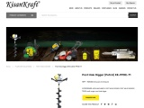 Earth auger manufacturer in India