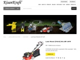 petrol engine lawn mower supplier in India