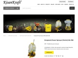 Knapsack power sprayer manufacturer in India