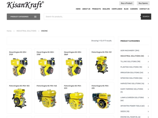 Agriculture Engine Manufacturer and supplier in India
