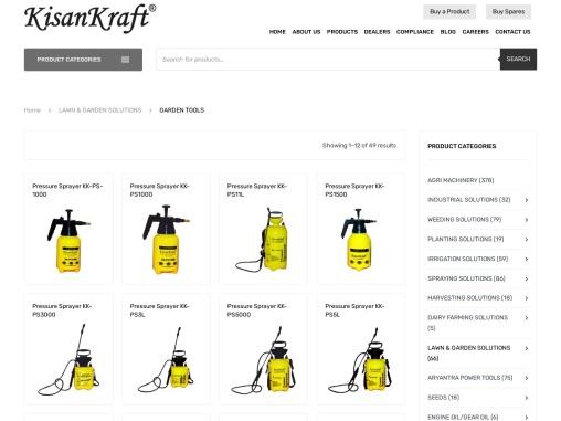 Garden tools manufacturer in India