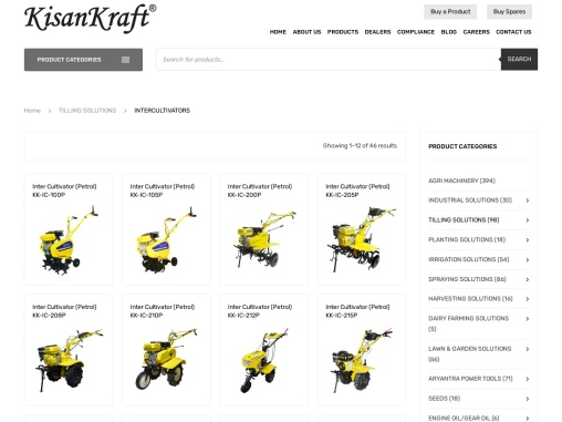Inter Cultivator Manufacturer and supplier in India – KisanKraft
