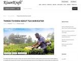 Tea harvester manufacturer in India