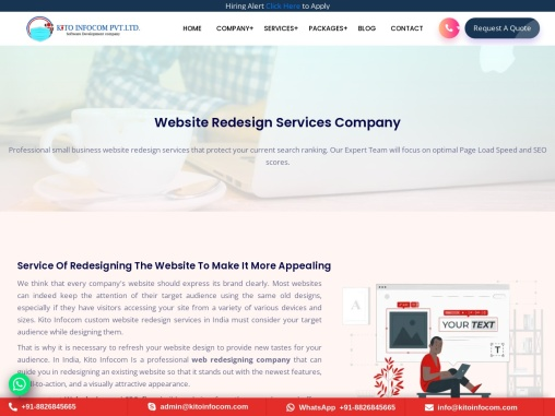 Website Redesign Services Company in Delhi India