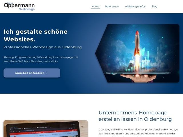 Klaus Oppermann – Authentisches Webdesign vom Experten - Konzeption, Gestaltung & Programmierung Ihrer Firmen-Homepage mit WordPress-CMS