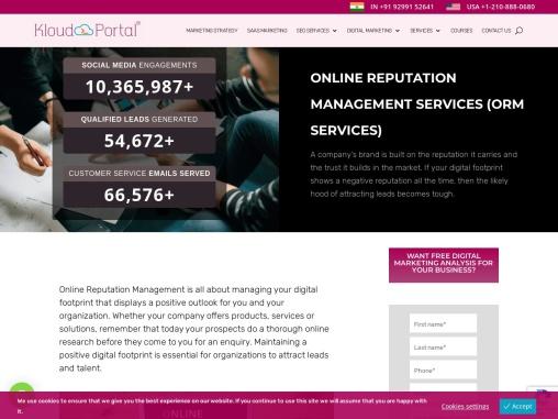 Email Marketing | Content Marketing | Kloudportal