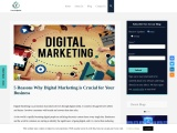 5 Reasons Why Digital Marketing is Crucial for Your Business