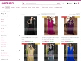55% Discount- Online Indian Sarees at KolKozy