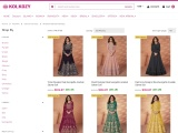 Buy Indian Anarkali Suits, Anarkali Salwar Kameez Online at KolKozy