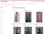 Buy Casual Salwar Kameez and Churidar Suits online at Kolkozy