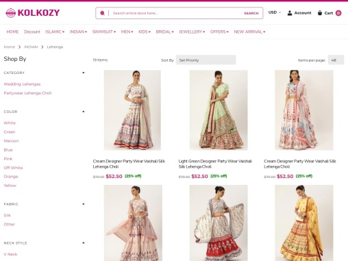 Buy Designer Lehenga – Kolkozy Fashion Pvt. Ltd.