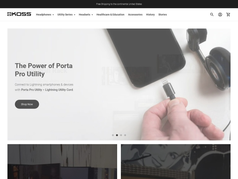 Koss Stereophones Coupon Codes