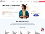 Open a free demat account instantly