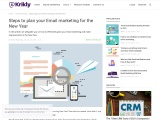 How to plan your email marketing strategy in new year