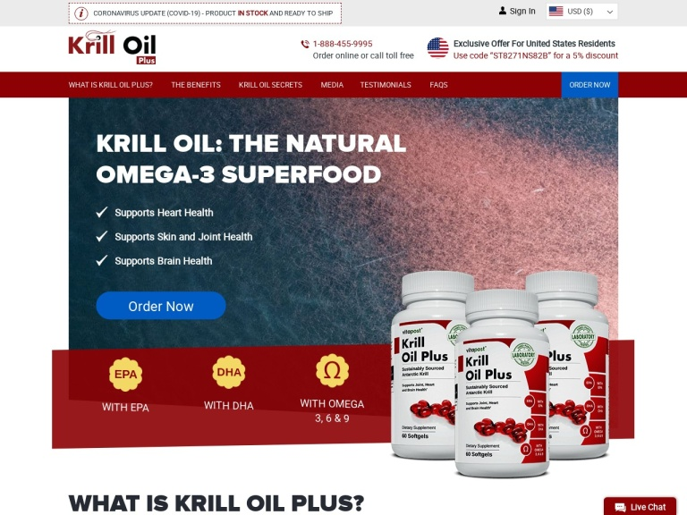 Krill Oil Plus screenshot