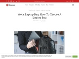 The Essential Elements Of A Perfect Laptop Bag