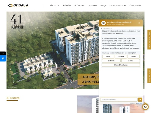 Residential Projects in Punawale Pune | 41 Estera Pune