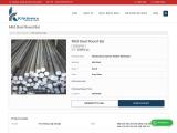 Mild Steel Round Bar Manufacturer