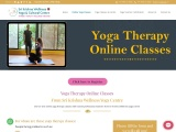 Online yoga therapy course