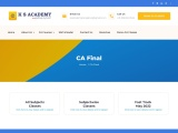 CA Final course in KS Academy Bangalore- Best CA coaching institute in India