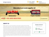 KSD Agro: Rotary Tiller Manufacturers in Punjab