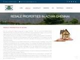 resale properties in adyar