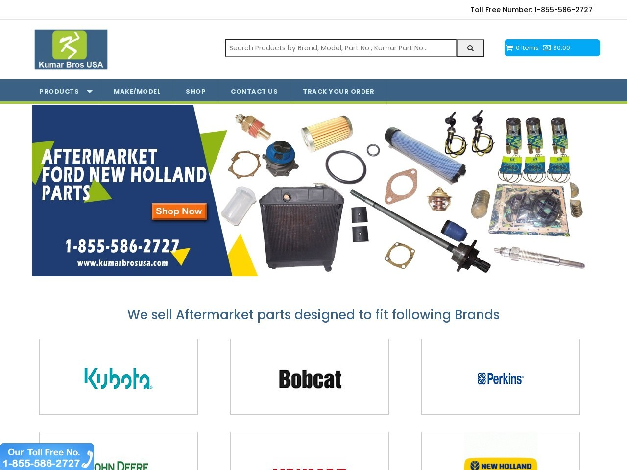 New Kumar Bros USA Fuel Injector Assy For Bobcat S175 S185″ Kubota V2203″