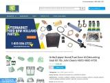 Grille/Upper Hood/Fuel Door Kit/Mounting Seal Kit fits John Deere 4500 4600 4700