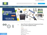New 2(Two) Craftsman/ Husqvarna/ Sears 8″ Front Self Propelled Wheels