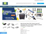 "New Kumar Bros USA Chute Cover W/ Hardware Fits John Deere SABRE 15.542GS 15.542HS 42"" Mower Deck"