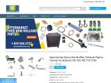 New Kumar Bros USA Muffler, Exhaust Pipe & Clamp for Bobcat 751 753 763 773 7753