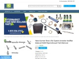 New Kumar Bros USA Spark Arrestor Muffler Bobcat 1600 Pipe Exhaust Tail Silencer