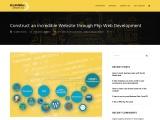 Construct an incredible Website through PHP Web Development