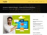 Dynamic Website Design – Essence of Online Business
