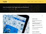 How Facebook Fan Page help your business?