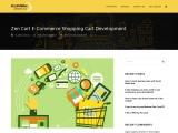 Zen Cart E-Commerce Shopping Cart Development