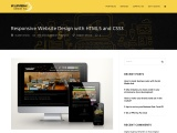 Responsive Website Design with HTML5 and CSS3