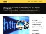 Website Design and Website Development, Why your business required WWW.