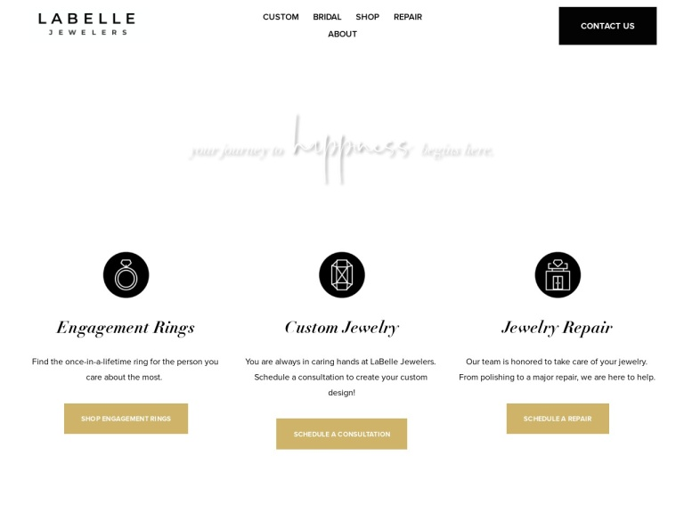 LaBelle Jewelers screenshot