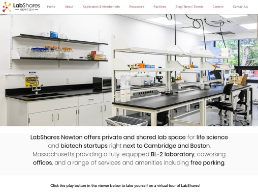 Biotech Lab Near Boston For Rent