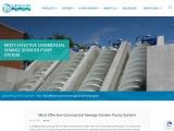 Most Effective Commercial Sewage Grinder Pump System