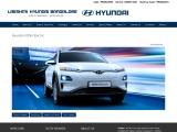 Hyundai KONA Electric virtual brochure from Lakshmi Hyundai, Bangalore
